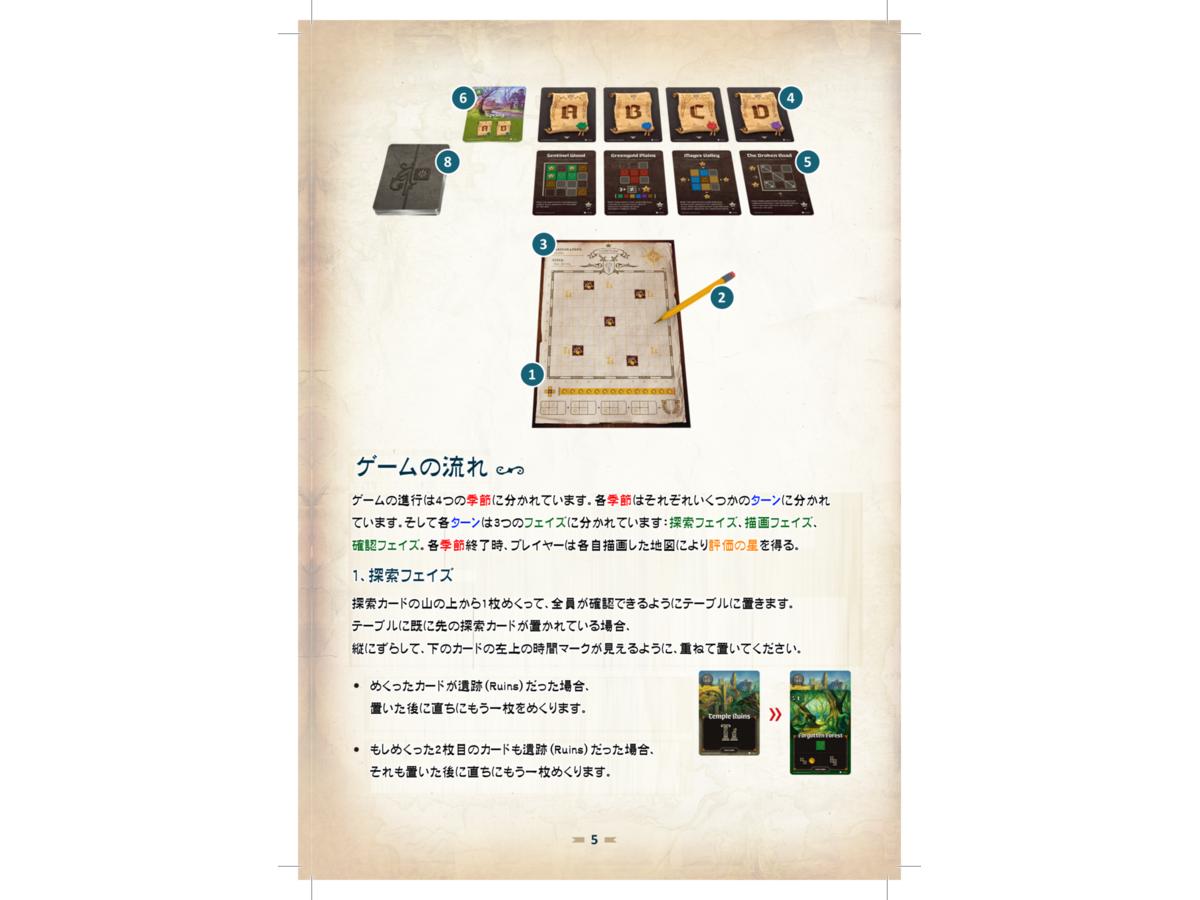 カートグラファー(Cartographers: A Roll Player Tale)の画像 #65168 冬垣真斗さん