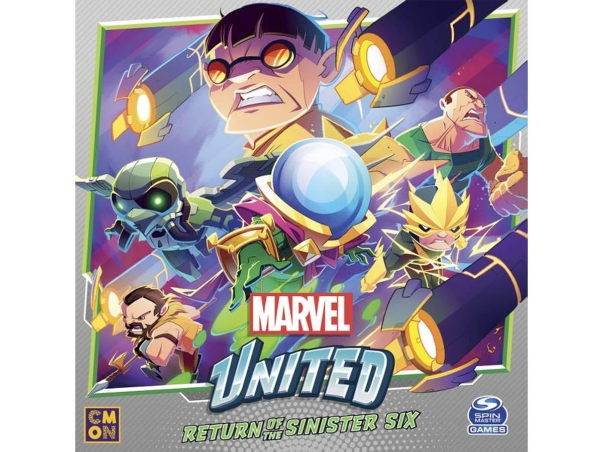 マーベル・ユナイテッド:リターン・シニスターシックス(Marvel United: Return of the Sinister Six)の画像 #71740 まつながさん