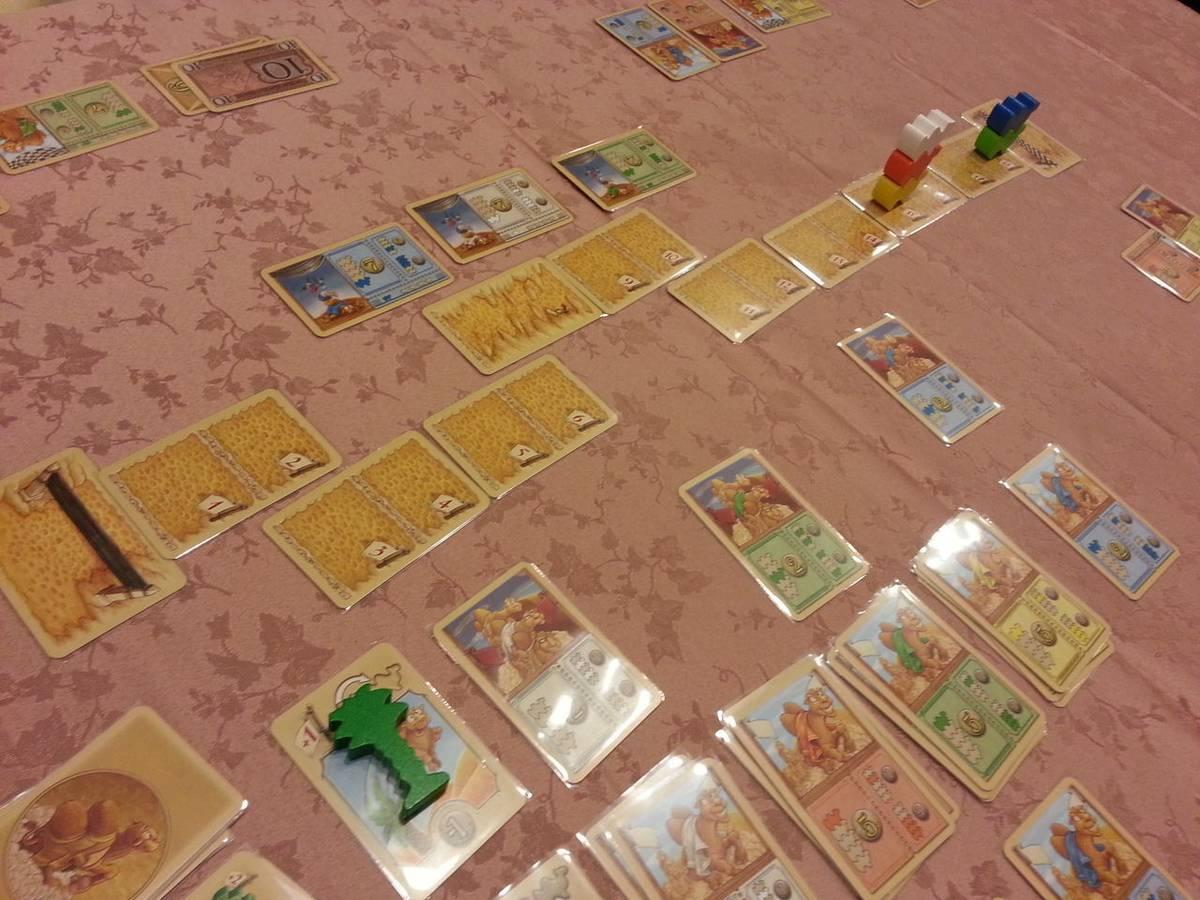 キャメルアップ:カードゲーム(Camel Up Cards)の画像 #60335 オグランド(Oguland)さん