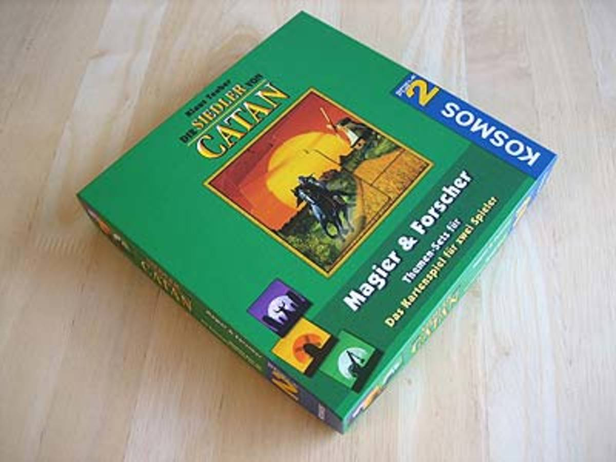 カタンの開拓者たち:カードゲーム 魔術師と研究者(Die Siedler von Catan: Das Kartenspiel Themen-sets fuer Magier & Forscher)の画像 #30926 ボドゲーマ運営事務局さん