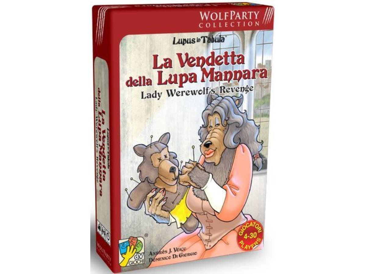 タブラの人狼:人狼の貴婦人の復讐(Lupus in Tabula: Lady Werewolf's Revenge)の画像 #44263 まつながさん