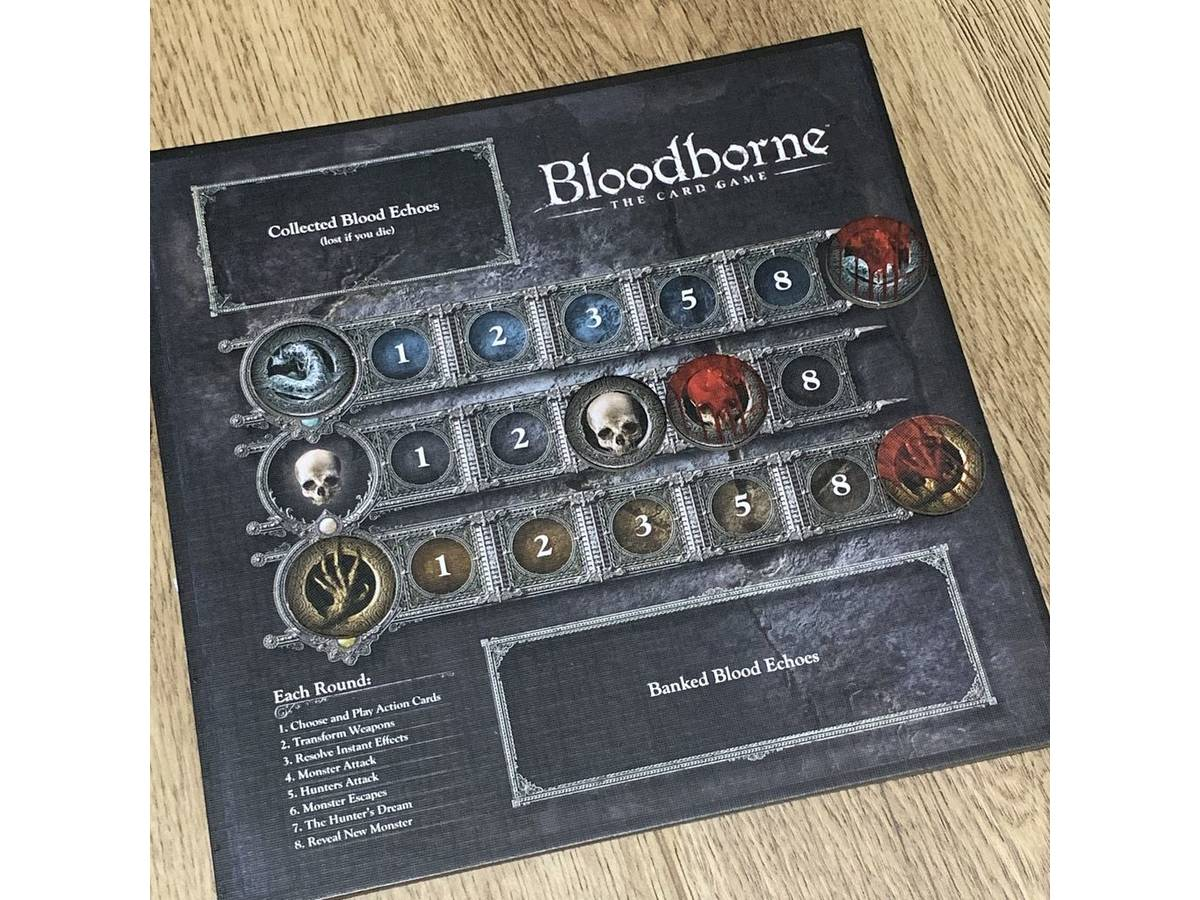ブラッドボーン:カードゲーム ハンターズナイトメア(Bloodborne: The Card Game – The Hunter's Nightmare)の画像 #49991 メガネのかをるさん