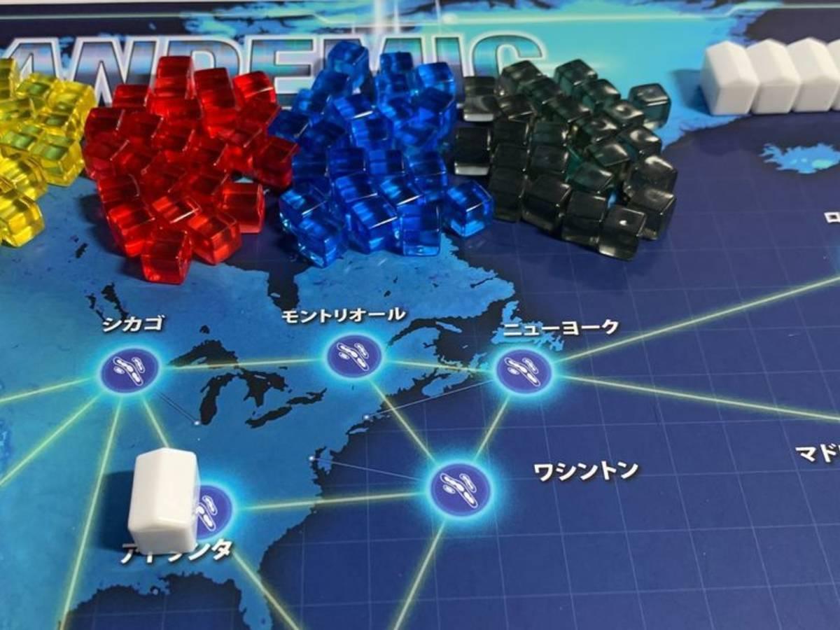 パンデミック:新たなる試練(Pandemic: A New Challenge)の画像 #59059 ときたまご[ソロゲームメイン]さん