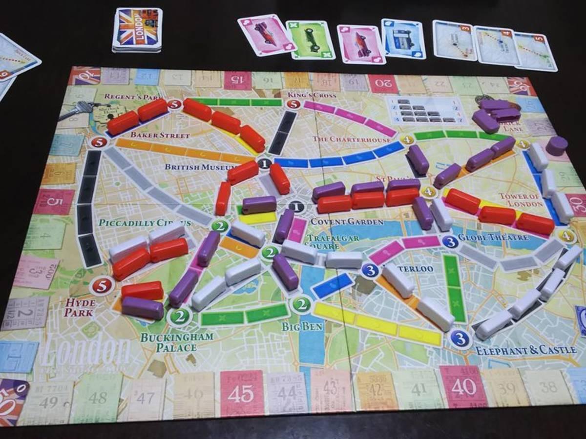 チケットトゥライド:ロンドン(Ticket to Ride: London)の画像 #65053 ビッチュウさん