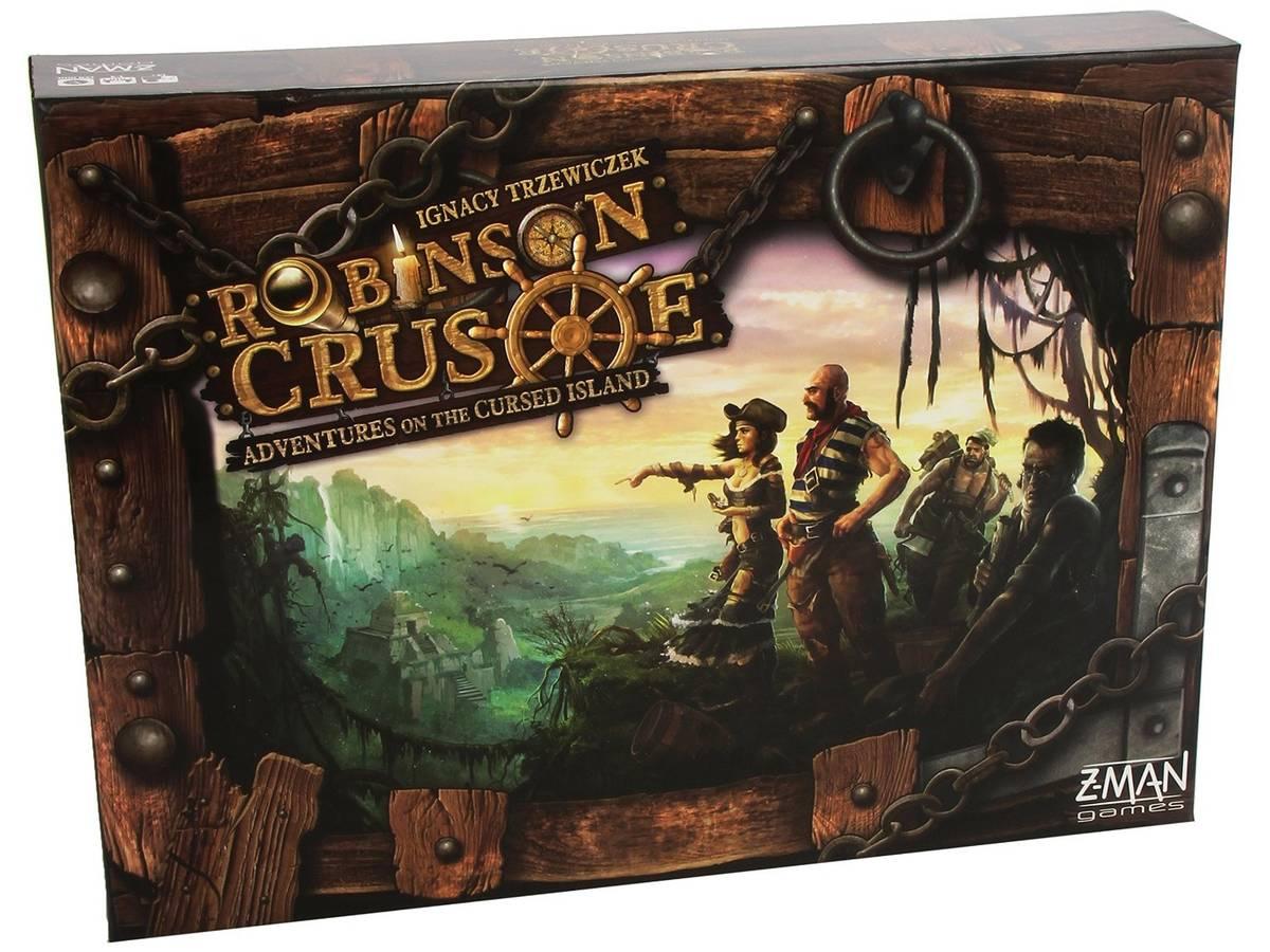 ロビンソン・クルーソー(Robinson Crusoe: Adventures on the Cursed Island)の画像 #35525 ボドゲーマ運営事務局さん
