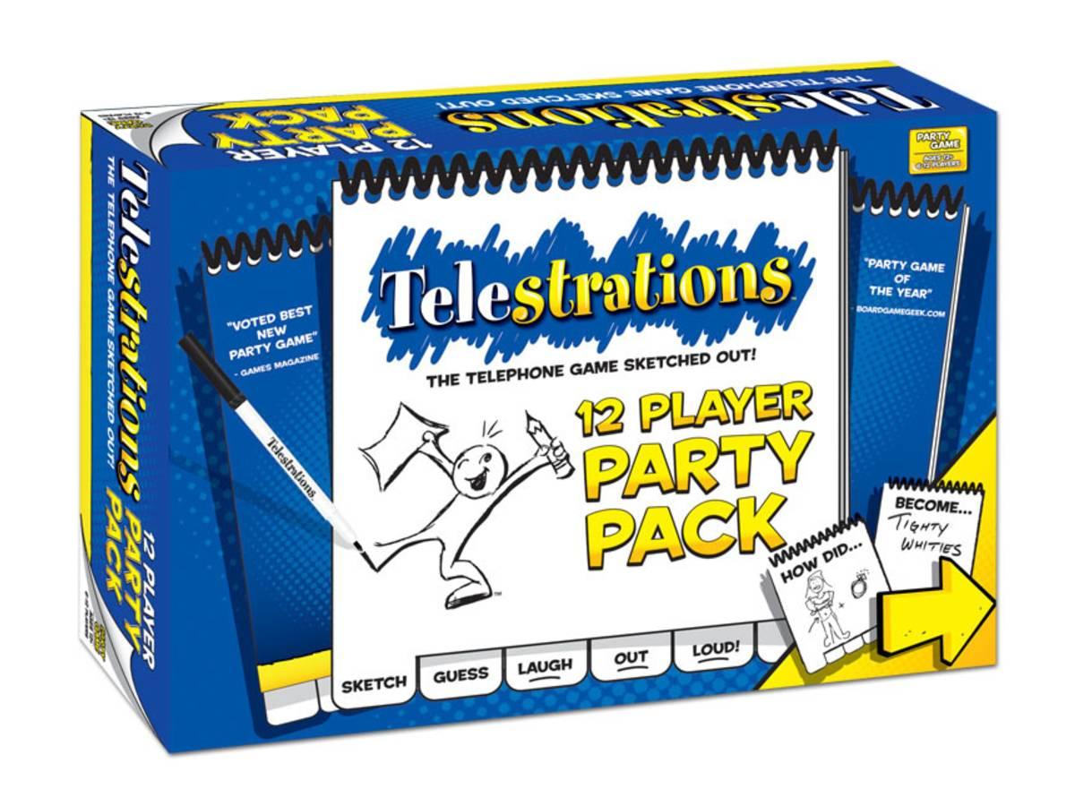 テレストレーション:12人用パーティーパック(Telestrations: 12 Player Party Pack)の画像 #31940 ボドゲーマ運営事務局さん