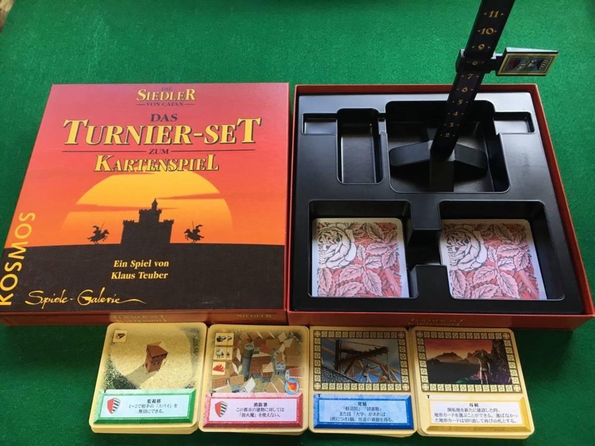 カタンの開拓者たち:カードゲーム トーナメントセット(Die Siedler von Catan: Das Turnier-Set zum Kartenspiel)の画像 #46330 nekomaruさん