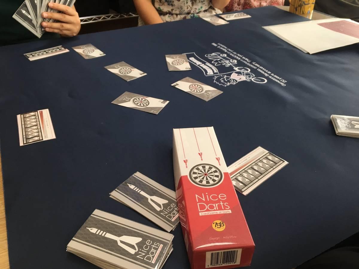 Nice Darts -CardGame of Darts-(Nice Darts -CardGame of Darts-)の画像 #56216 758ボードゲーム会@758BGさん