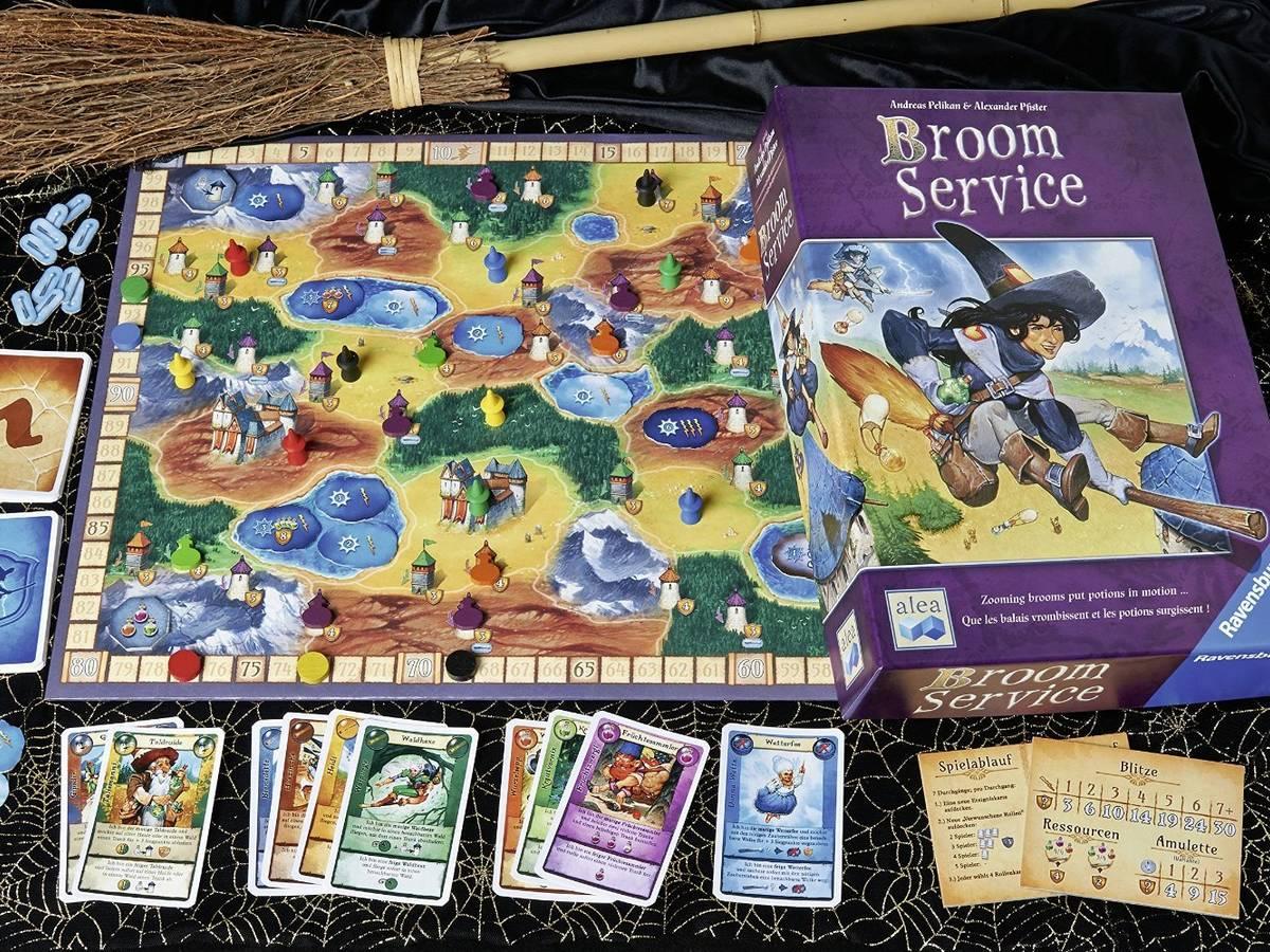 ブルームサービス(Broom Service)の画像 #32426 ボドゲーマ運営事務局さん