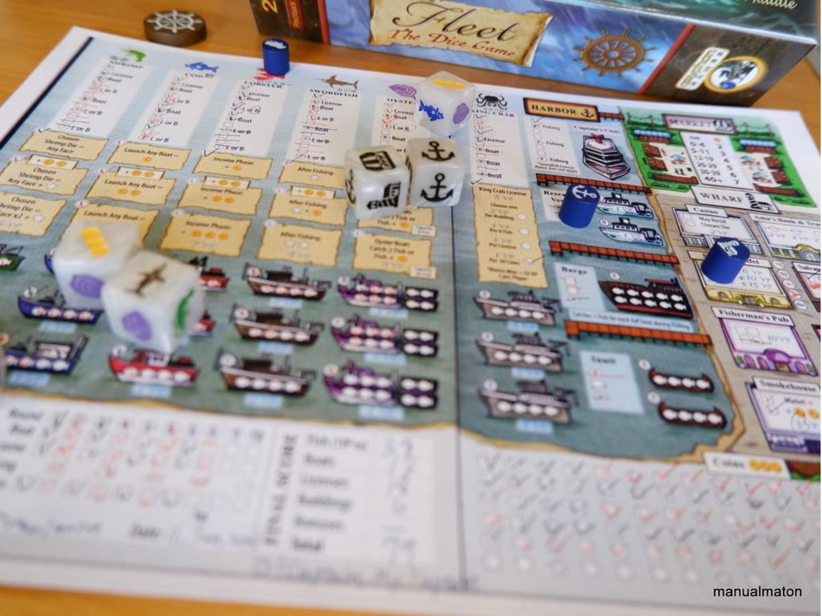 フリート:ダイスゲーム(Fleet: The Dice Game)の画像 #67946 手動人形さん