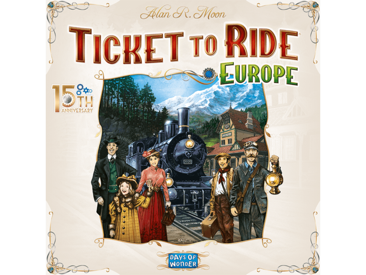 チケット・トゥ・ライド:ヨーロッパ 15周年記念版(Ticket to Ride: Europe – 15th Anniversary)の画像 #71051 まつながさん