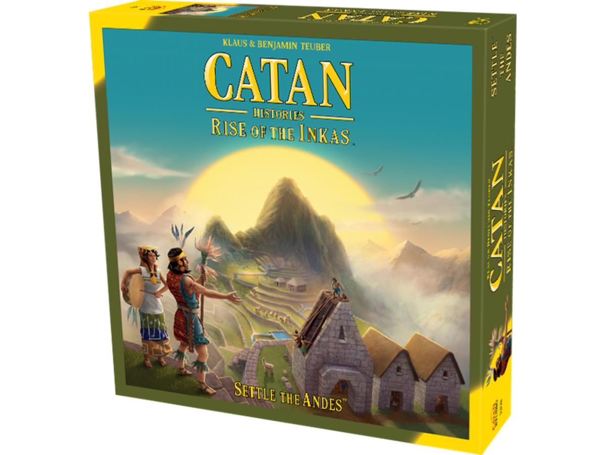 カタン・ヒストリー:レイズ・オブ・ザ・インカ(Catan Histories: Rise of the Inkas)の画像 #46242 まつながさん