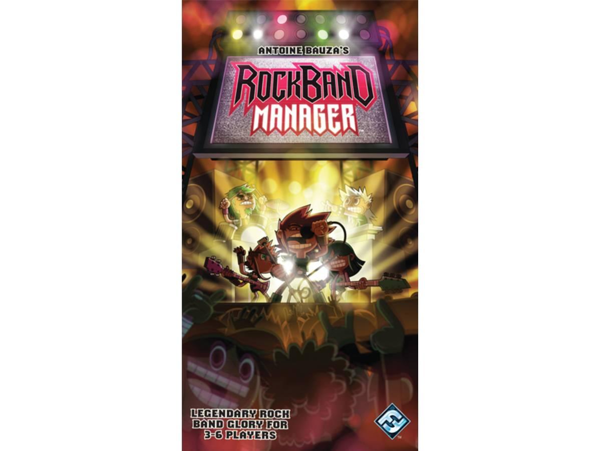 ロックバンド・マネージャー(Rockband Manager)の画像 #35974 ボドゲーマ運営事務局さん