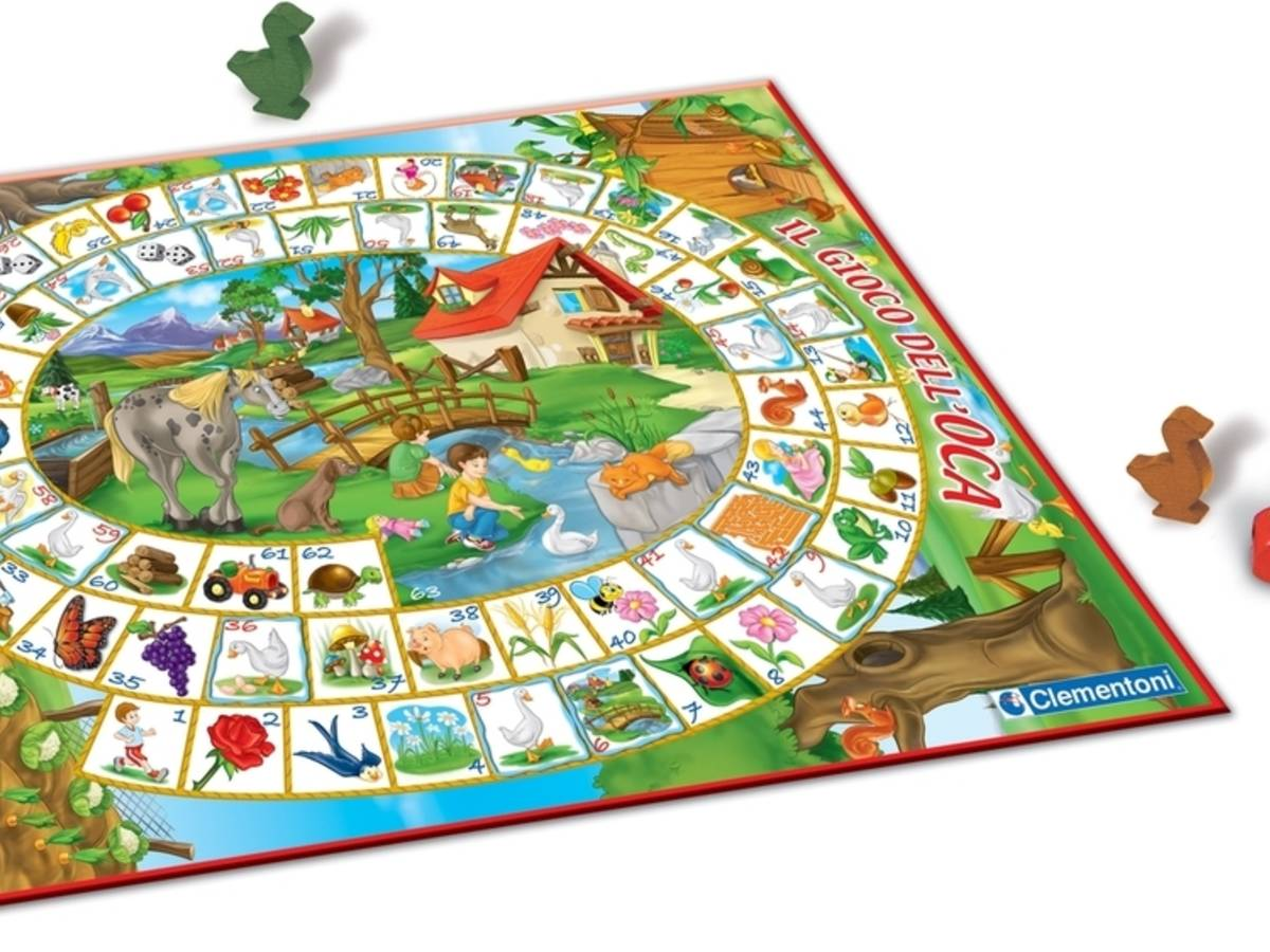 鵞鳥のゲーム(Jeu de l'oie / The Game of Goose)の画像 #31944 ボドゲーマ運営事務局さん