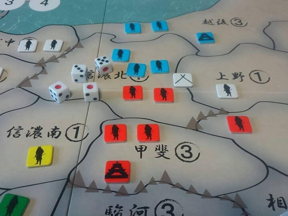ドラフト戦国大名 (Draft Sengoku Daimyo)の画像 #32669 ボドゲーマ運営事務局さん