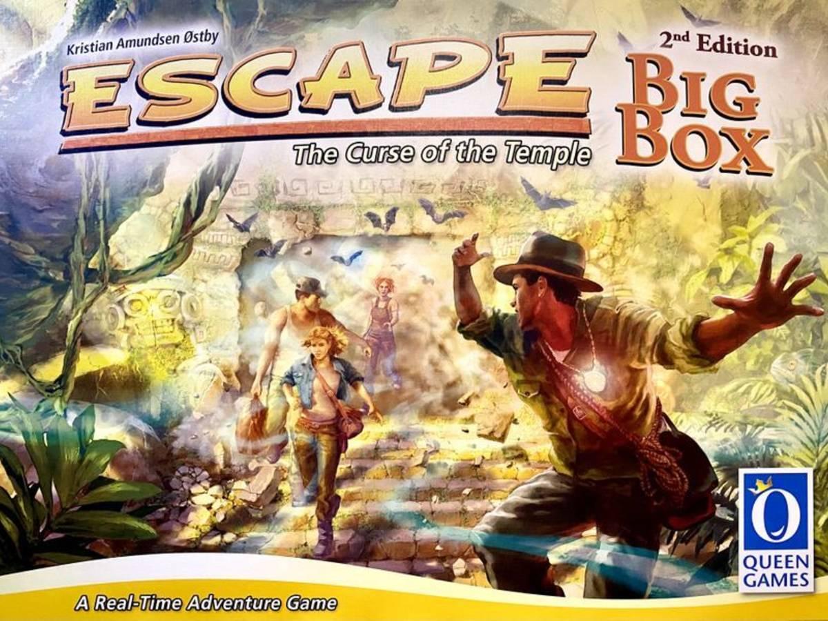 エスケープ:ビッグボックス セカンドエディション (Escape: The Curse of the Temple – Big Box Second Edition)の画像 #71724 まつながさん