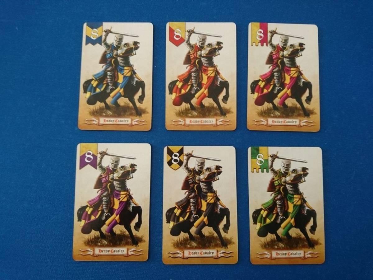 バトルライン:中世版(Battle Line: Medieval)の画像 #60827 mentaiさん