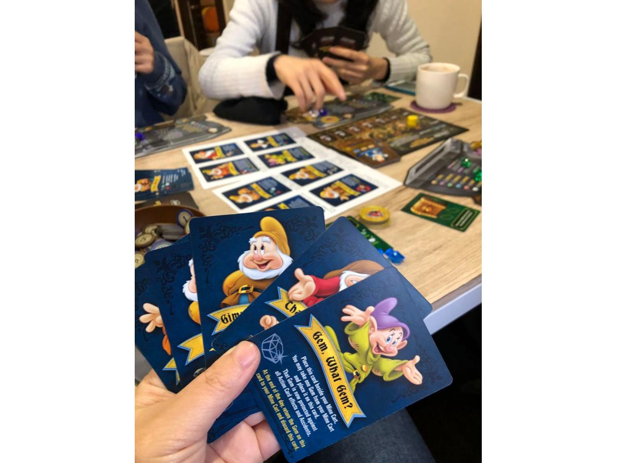 白雪姫と七人の小人:ジェムストーン・マイニング・ゲーム(Snow White and the Seven Dwarfs: A Gemstone Mining Game)の画像 #49099 まつながさん