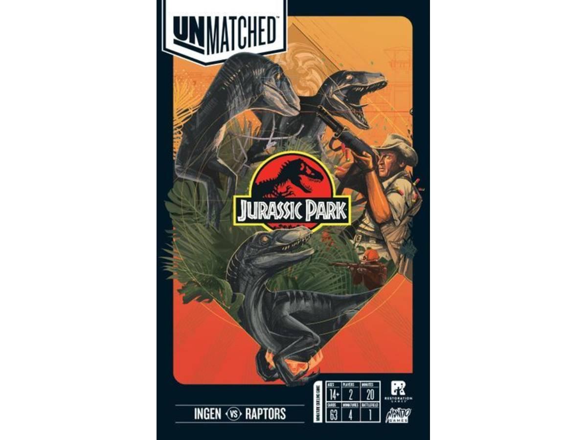 アンマッチド:ジュラシックパーク-インゲンvsラプトルズ(Unmatched: Jurassic Park – InGen vs Raptors)の画像 #54300 らめるんさん