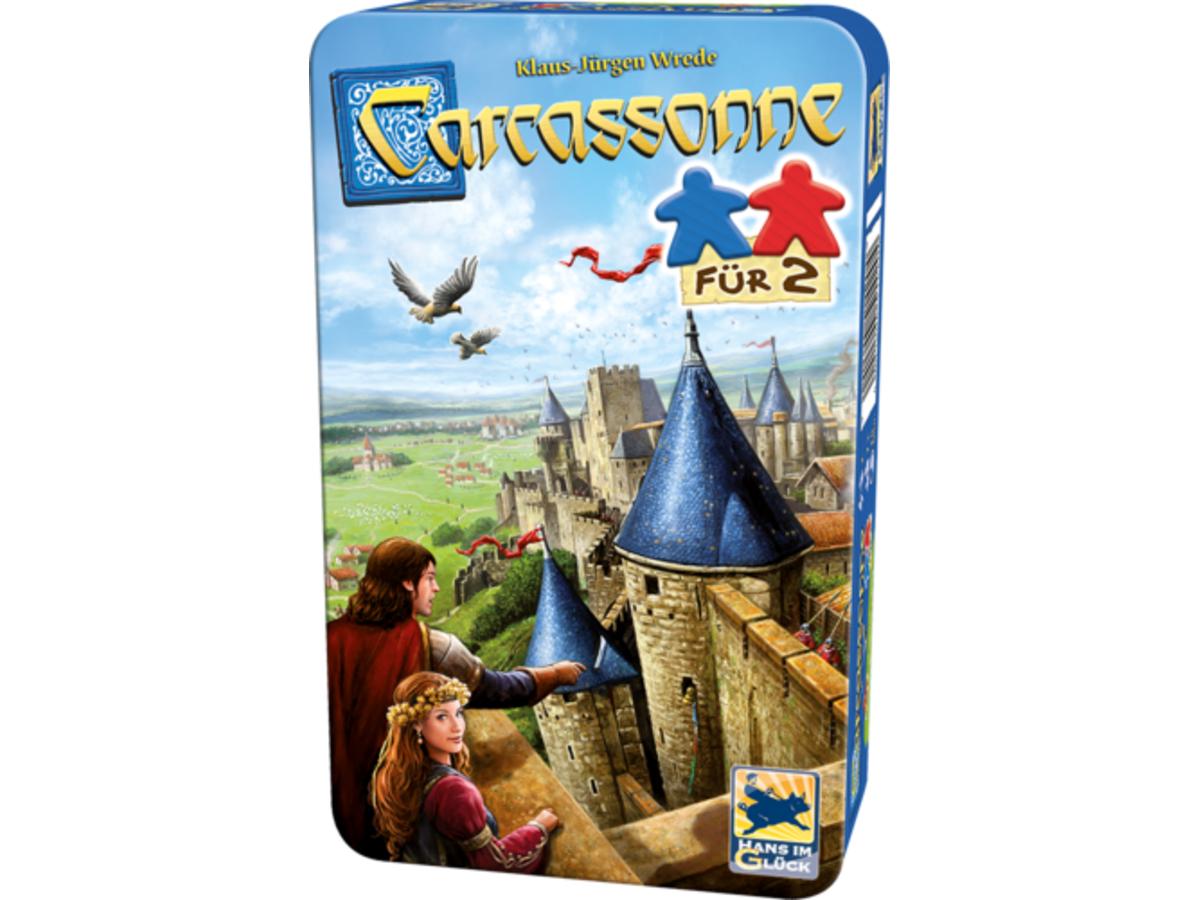 カルカソンヌ:フォー2(Carcassonne für 2)の画像 #39539 まつながさん