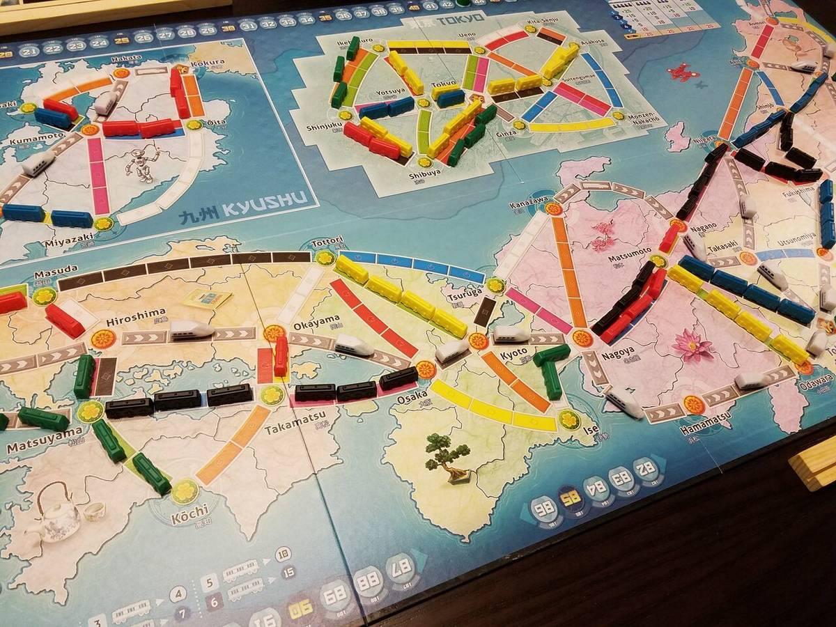 チケットトゥライド:日本&イタリア(Ticket to Ride Map Collection: Volume 7 – Japan & Italy)の画像 #67115 オグランド(Oguland)さん