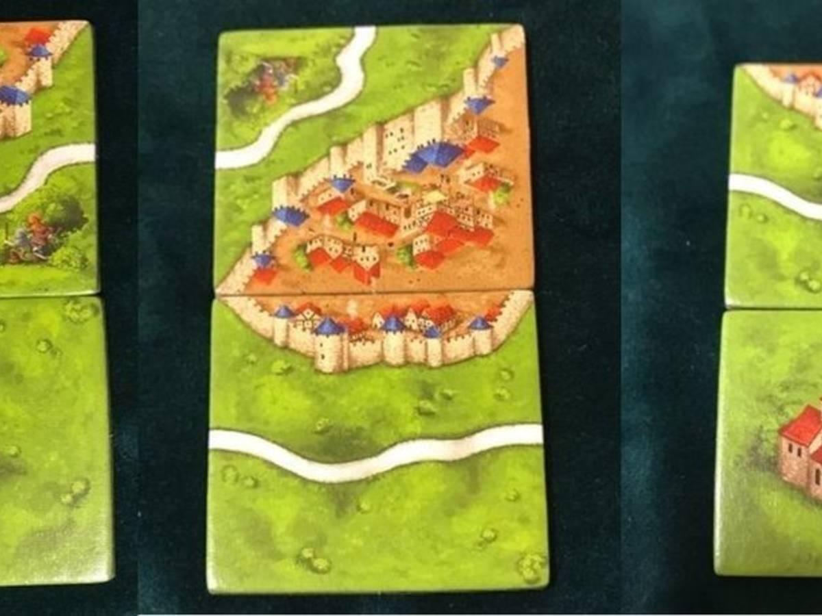 カルカソンヌJ(Carcassonne J)の画像 #55293 豊田市ボードゲームファンさん
