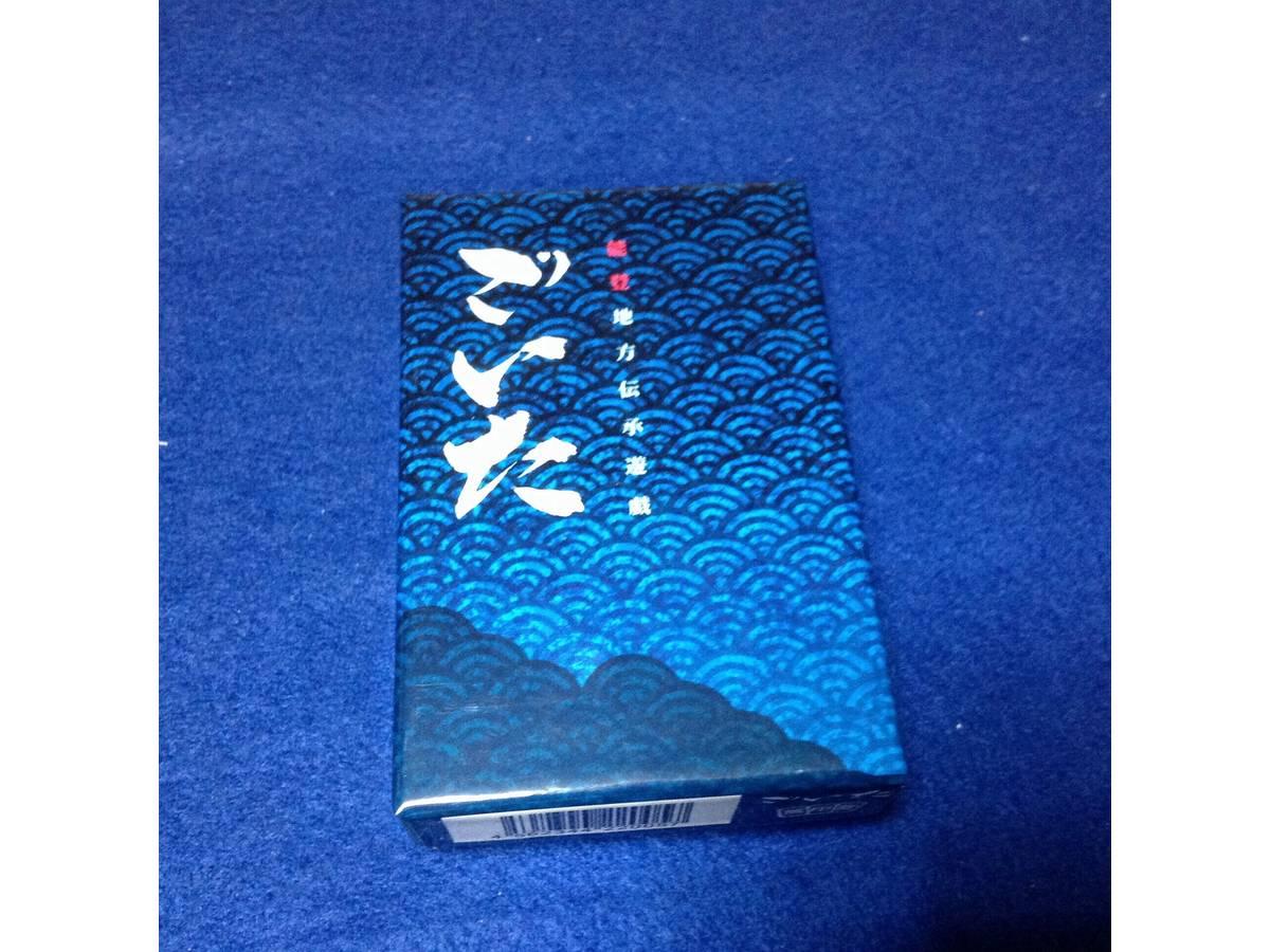 ごいた / ごいたカード / 奥能登伝承娯楽 ごいた / 天九紙牌(Goita / Goita Card)の画像 #30479 GUDAGUDASAMAさん