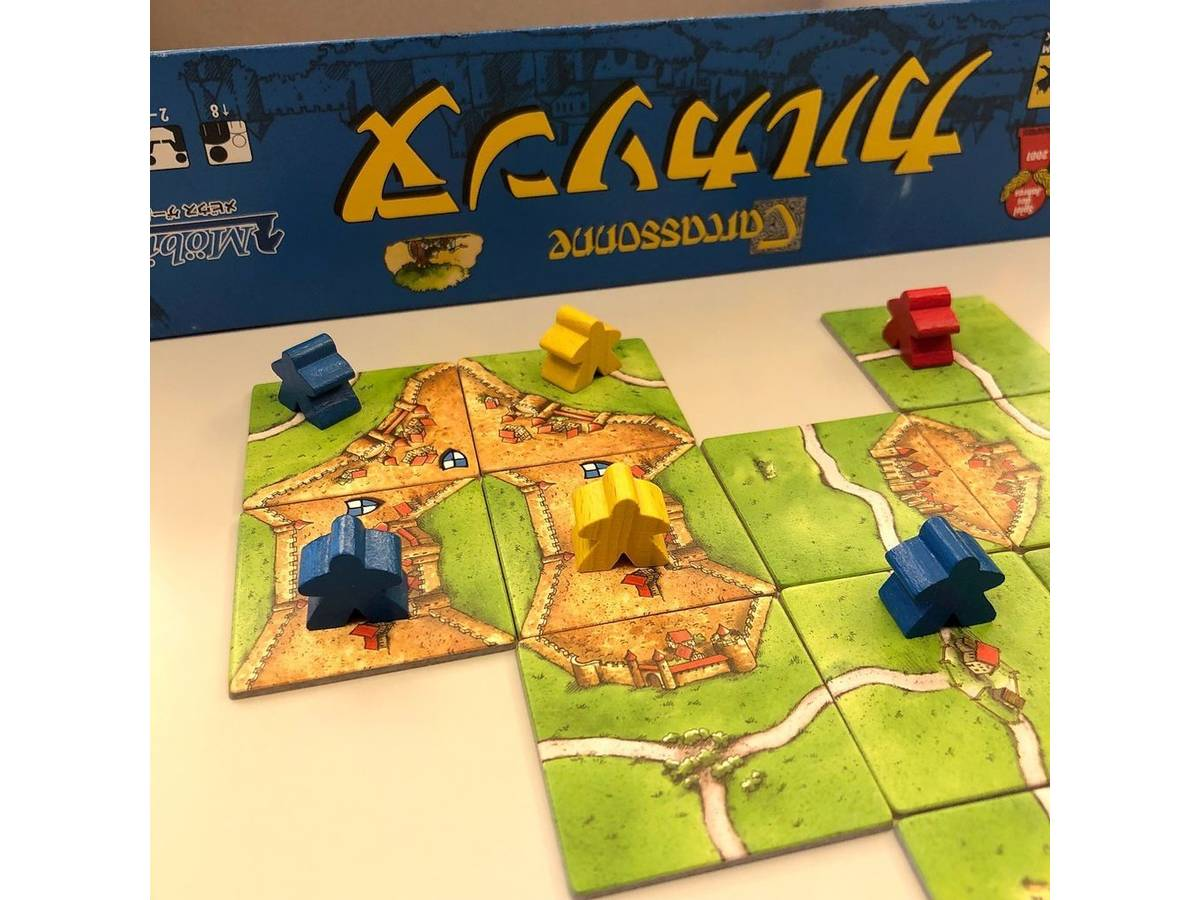カルカソンヌ(Carcassonne)の画像 #55040 こかど@サンセットゲームズさん
