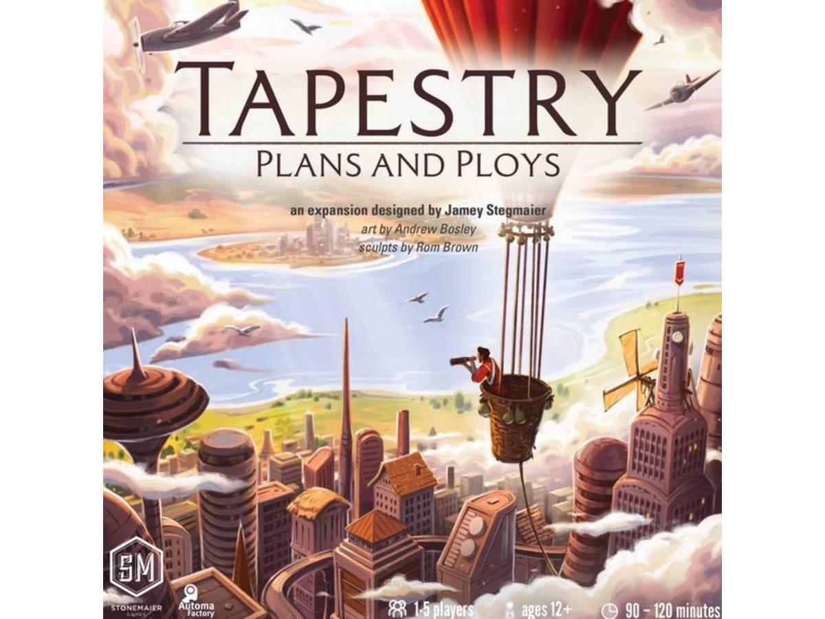 タペストリー ~文明の錦の御旗~:陰謀と策略(拡張)(Tapestry: Plans & Ploys)の画像 #64649 まつながさん