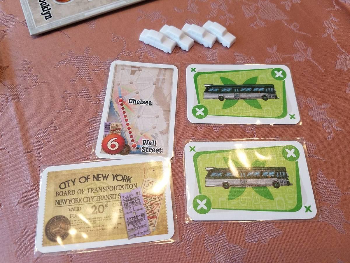 チケットトゥライド:ニューヨーク(Ticket to Ride: New York)の画像 #54060 オグランド(Oguland)さん