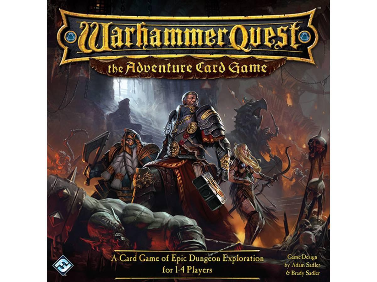 ウォーハンマー・クエスト:カードゲーム(Warhammer Quest: The Adventure Card Game)の画像 #33412 ボドゲーマ運営事務局さん