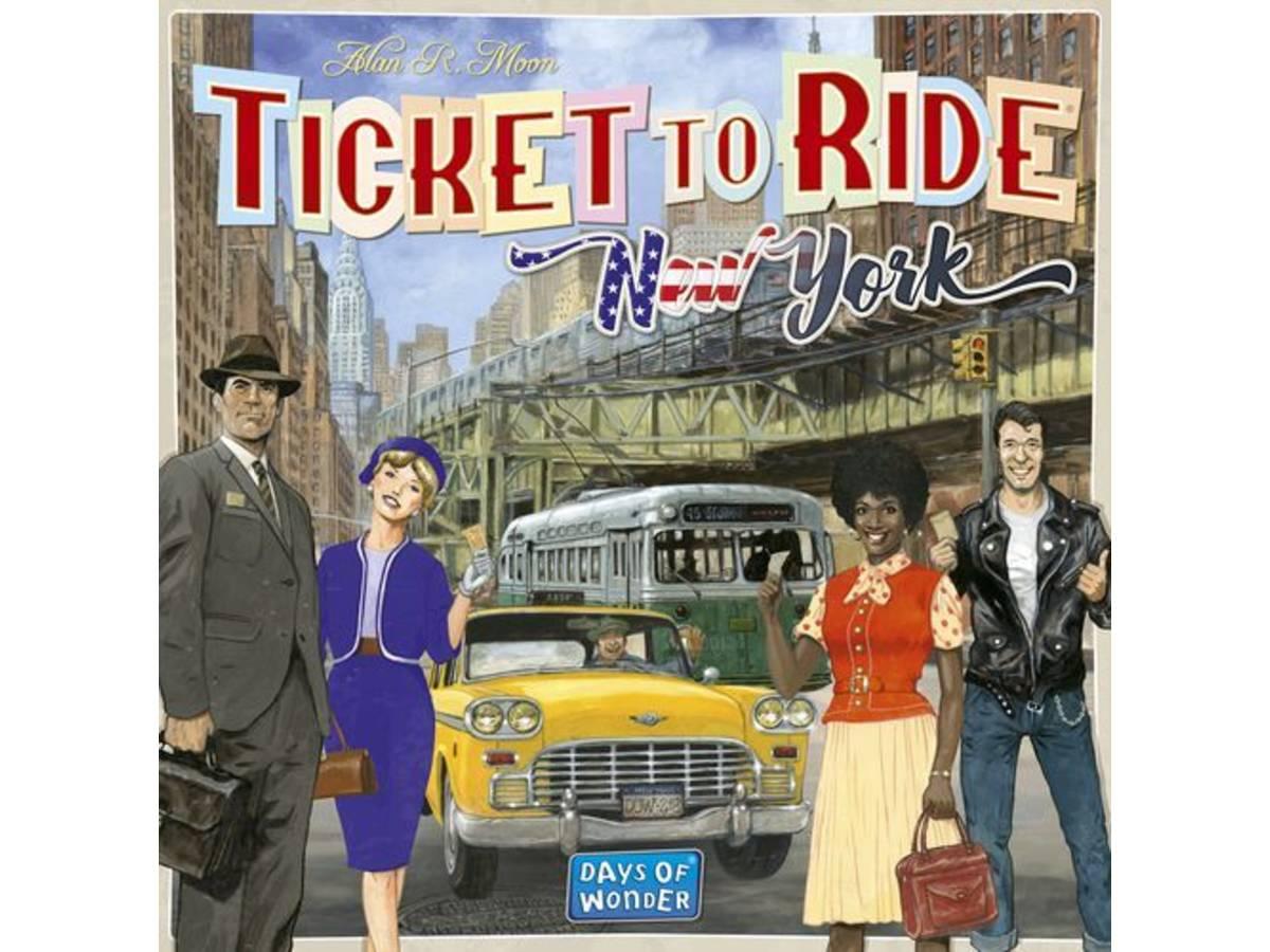 チケットトゥライド:ニューヨーク(Ticket to Ride: New York)の画像 #44685 まつながさん