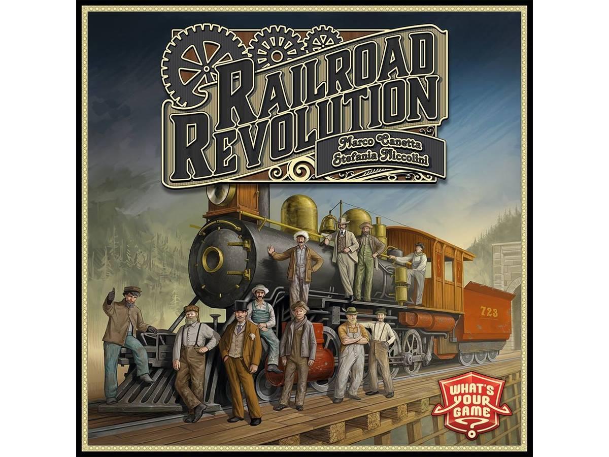 レイルロード・レボリューション(Railroad Revolution)の画像 #35054 ボドゲーマ運営事務局さん