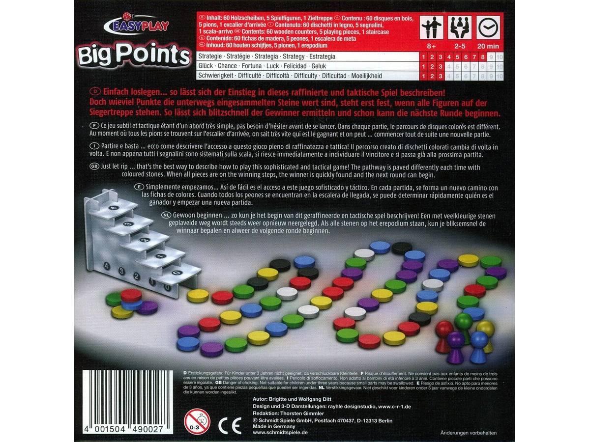 ビッグ・ポイント(Big Points)の画像 #35617 ボドゲーマ運営事務局さん