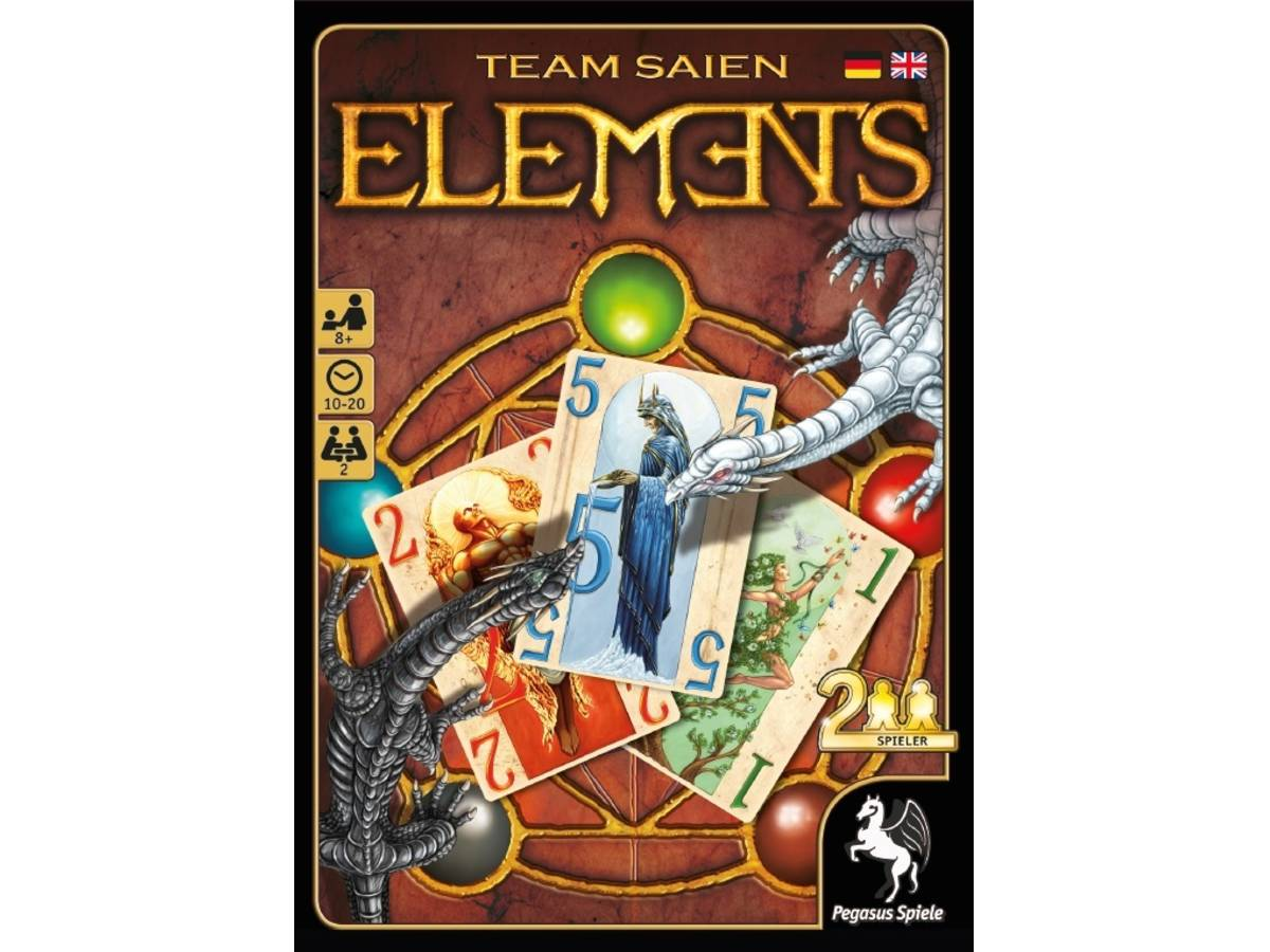 エレメンツ(Elements)の画像 #35323 ボドゲーマ運営事務局さん