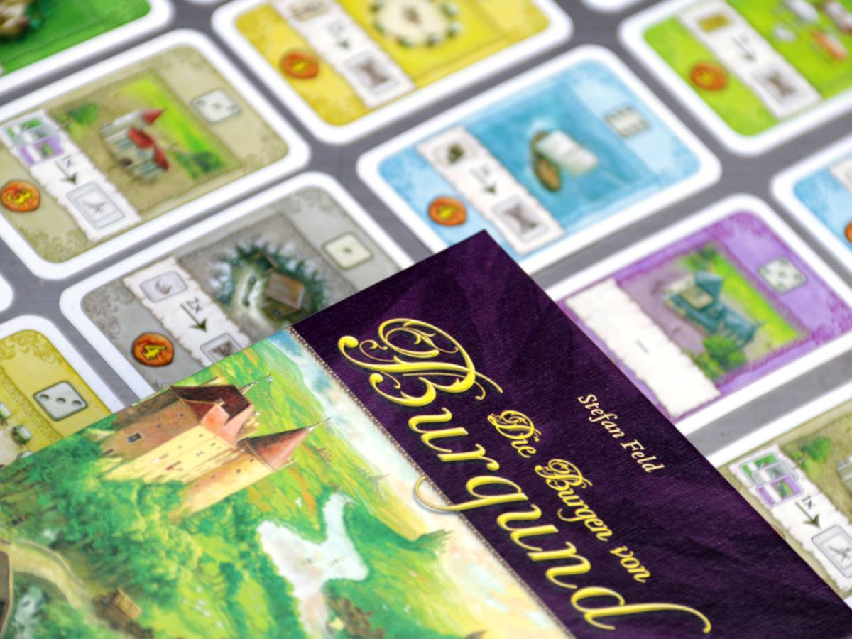 ブルゴーニュ:カードゲーム(Die Burgen von Burgund Das Kartenspiel / The Castles of Burgundy)の画像 #32103 ボドゲーマ運営事務局さん