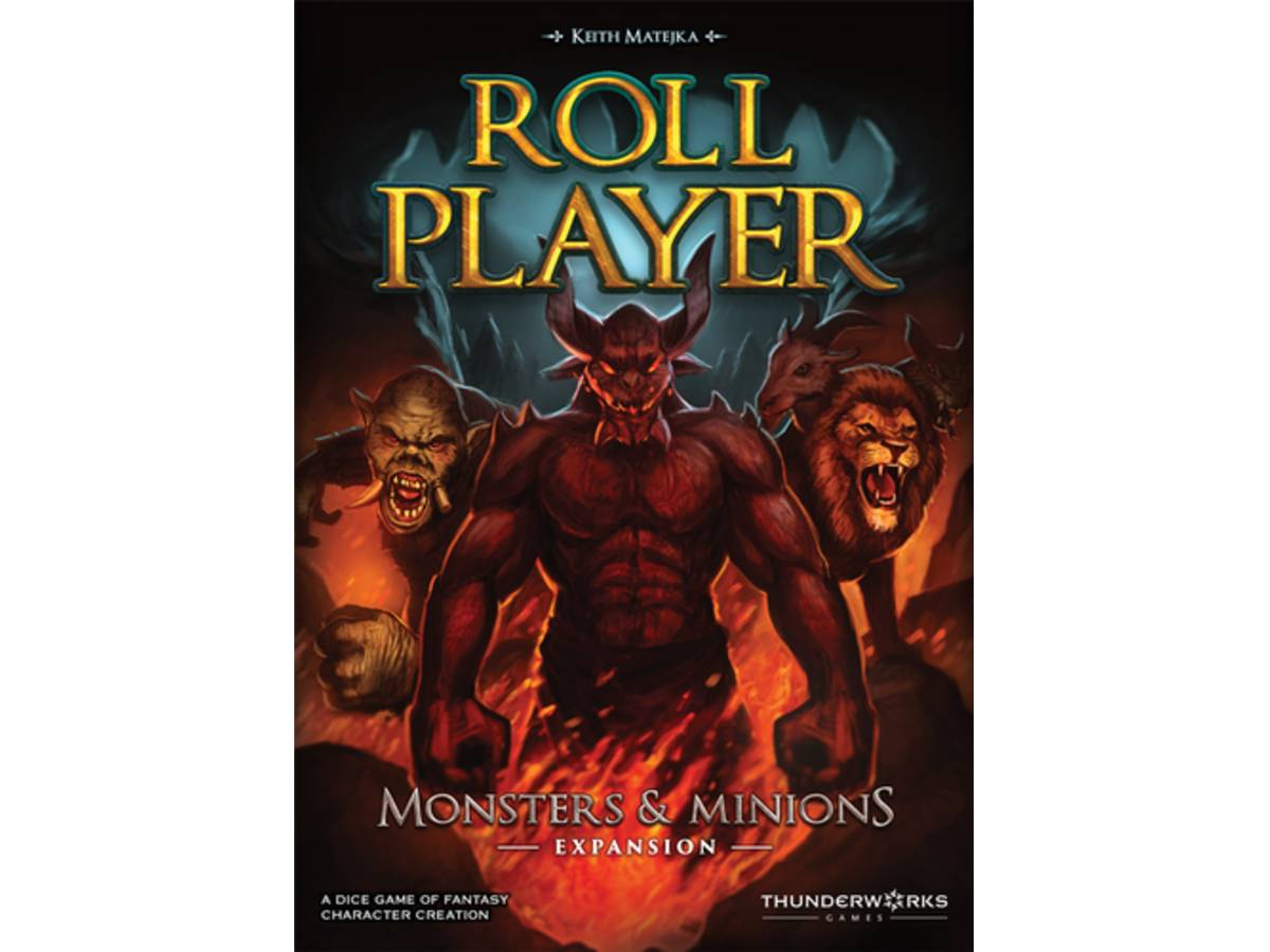 ロールプレイヤー:モンスターズ&ミニオンズ(Roll Player: Monsters & Minions)の画像 #37884 まつながさん