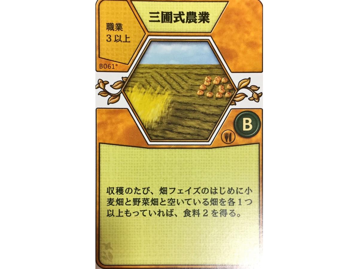 アグリコラ:リバイズドエディション(Agricola: Revised Edition)の画像 #45666 luckさん