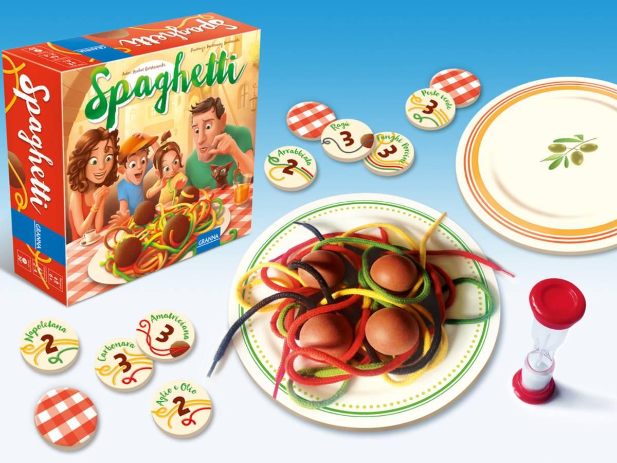 スパゲティ(Spaghetti)の画像 #35939 ボドゲーマ運営事務局さん