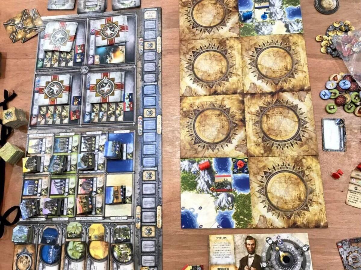 シヴィライゼーション(Sid Meier's Civilization: The Board Game)の画像 #42028 まつながさん