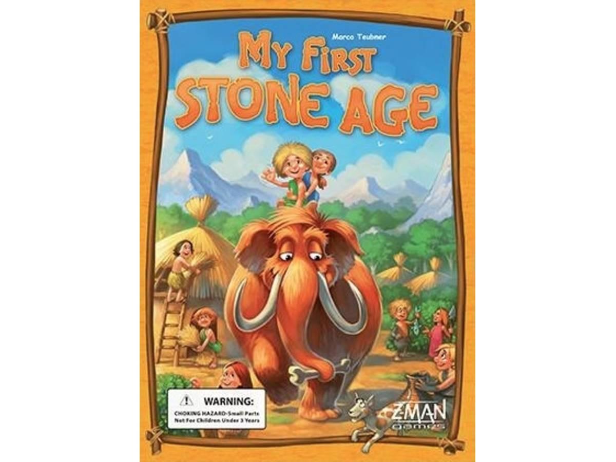ストーンエイジ:ジュニア(Stone Age: Junior / My First Stone Age)の画像 #32869 ボドゲーマ運営事務局さん