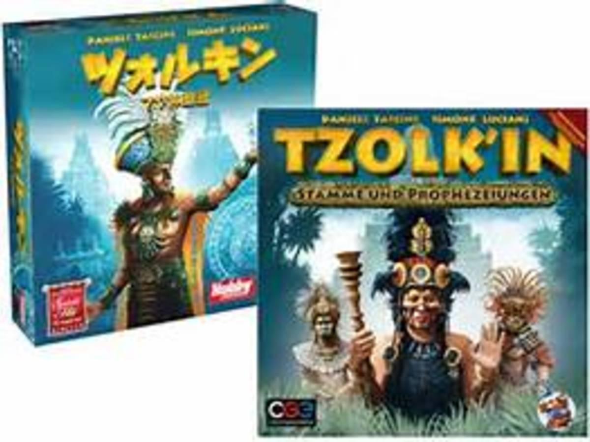 ツォルキン:マヤ神聖歴(Tzolk'in: The Mayan Calendar)の画像 #10210 ボドゲーマ運営事務局さん